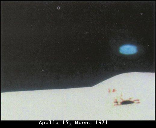 NASA Photographs of Possible UFOs